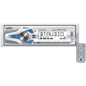 Dual Marine Single-din In-dash Mechless Digital Media Am And Fm Receiver With Bluetooth DULMXD337BT