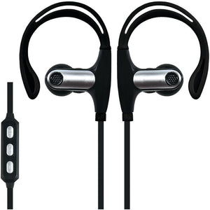 Supersonic Sweatproof Bluetooth Sport Earbuds With Microphone (black) SSCIQ131BTBK