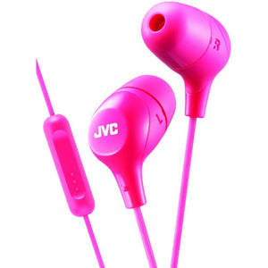 Jvc Marshmallow Inner-ear Headphones With Microphone (pink) JVCHAFX38MP
