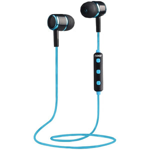 Naxa Bluetooth Isolation Earbuds With Microphone & Remote (blue) NAXE950BLKBLU