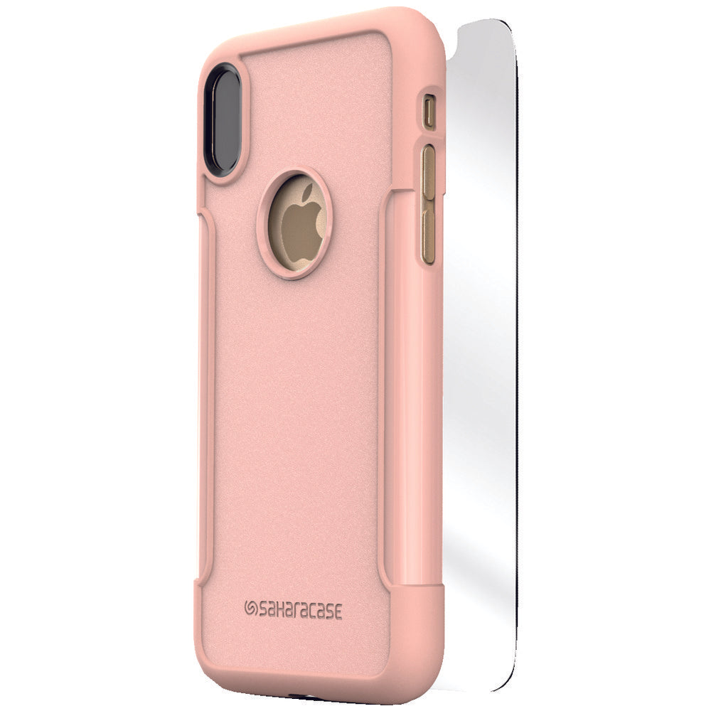 Saharacase Classic Protective Kit For Iphone X (rose Gold) SHRCAIXROG