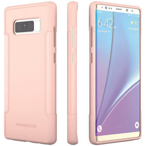 Saharacase Classic Case For Samsung Galaxy Note 8 (rose Gold Clear) SHROCLSN8ROGCL