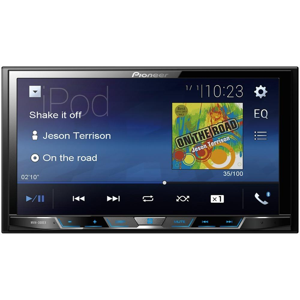 "Pioneer 7"" Double-din In-dash Digital Media & A And V Receiver With Bluetooth PIOMVH300EX"