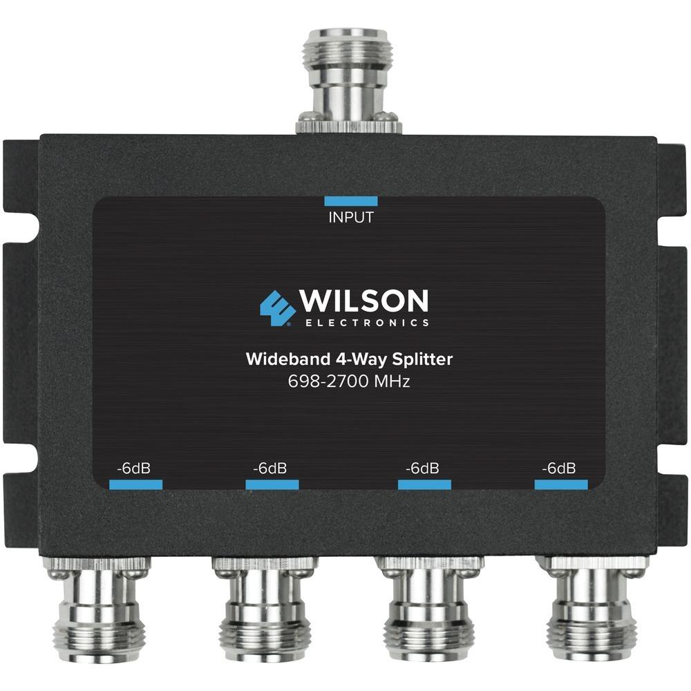 Wilson Electronics 4-way 6db Cellular Signal Splitter With N-female Connectors WB859981