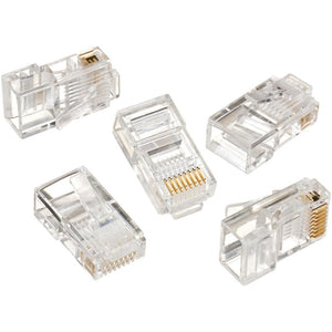 Ideal Rj45 8p8c Mod Plug (card Of 50) IDI85396
