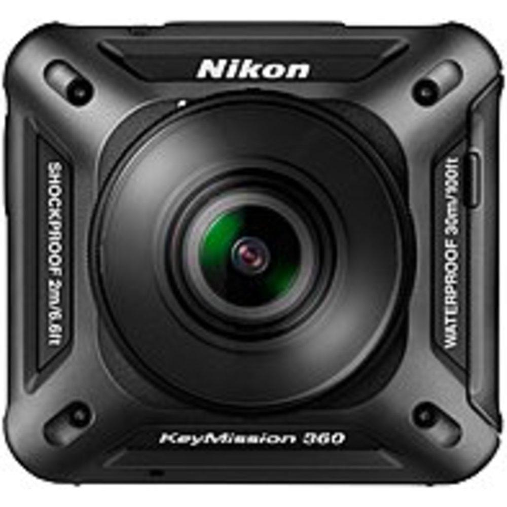 Nikon KeyMission Digital Camcorder - CMOS - 4K - Black - 16:9 - H.264-MPEG-4 AVC, MOV - Electronic (IS) - HDMI - USB - microSD, microSDXC, microSDHC - Memory Card - Wearable - Tripod Mount