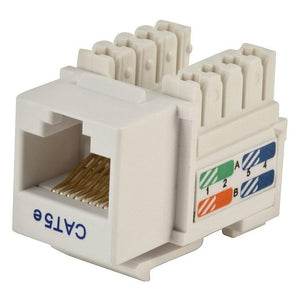 Monoprice 105376 Category 5e Punch Down Keystone Jack - RJ45