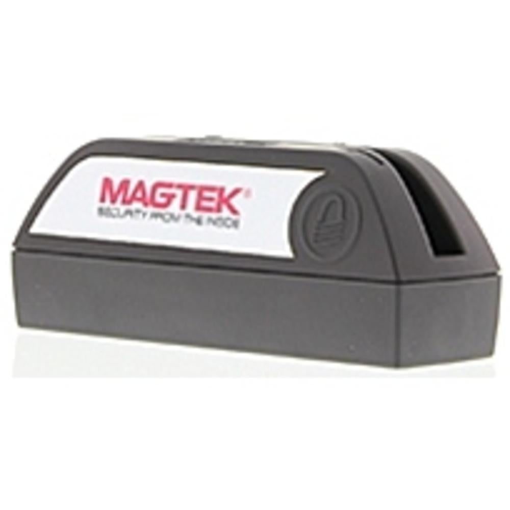 MagTek DynaMAX 21073154 ISO 7810-7811 Magnetic Card Reader - USB, Bluetooth - 2 x Alkaline AA (Batteries Not Included) - Black