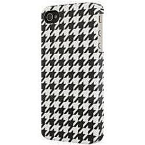Venom Communication 5031300075554 Smartphone Case for iPhone 4 - Houndstooth - Black, White