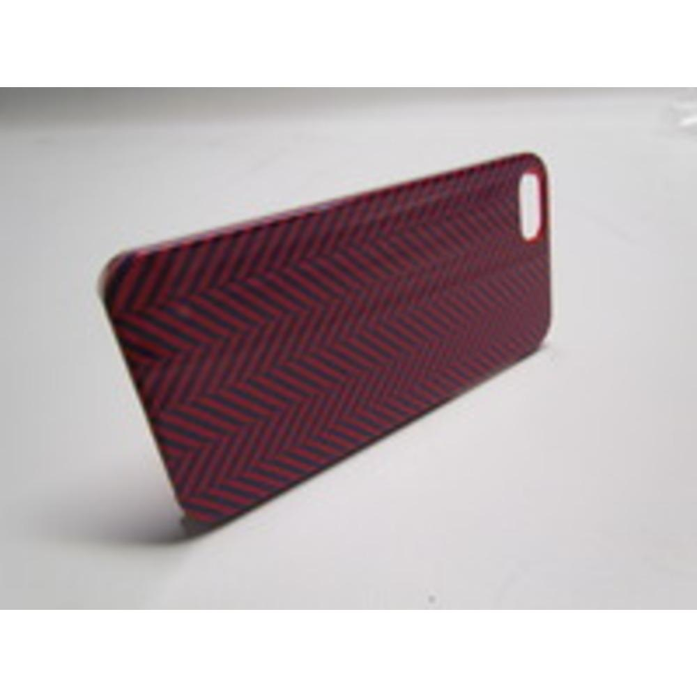 Venom Communications 5031300075806 Signature Case for iPhone 5 - Herringbone Navy Blue, Red