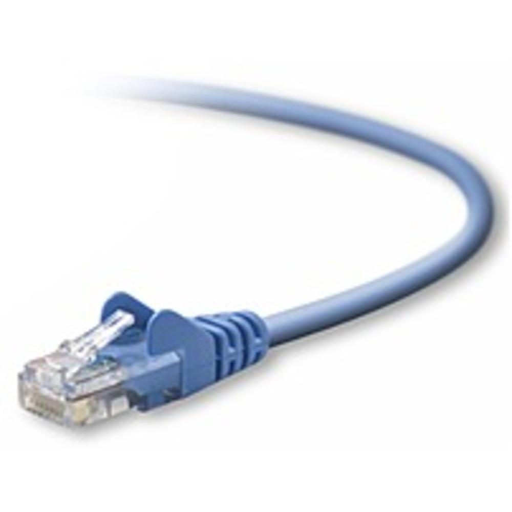 Belkin A3L791B14-BLU-S 14 Feet Cat5e Snagless Patch Cable - 1 x RJ-45 Male-Male - Blue