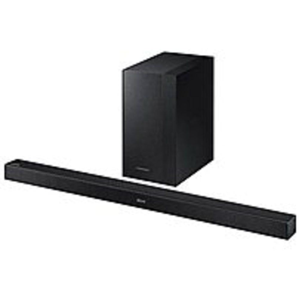 Samsung K-Series HW-KM45C 2.1 Channel Soundbar and Wireless Subwoofer Speaker System - 300 Watts RMS - Black