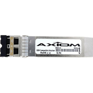 Axiom 10GBASE-SR SFP+ Transceiver for Meraki - MA-SFP-10GB-SR - For Optical Network, Data Networking - 1 x 10GBase-SR - Optical Fiber - 1.25 GB-s 10 Gigabit Ethernet10 Gbit-s