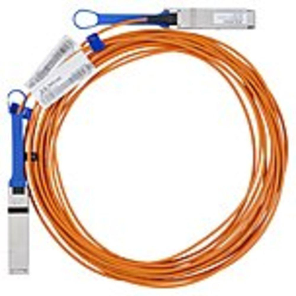 Mellanox MC220731V-010 Fiber Optic Network Cable - Fiber Optic for Network Device - 33 ft - 1 x QSFP Male Network - 1 x QSFP Male Network