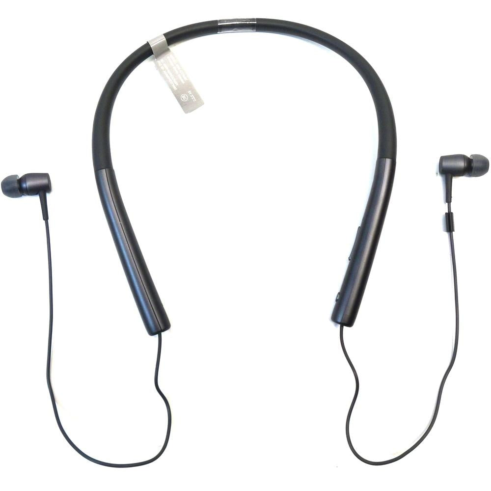 Sony h.ear in MDR-EX750BT Earset - Stereo - Charcoal Black - Mini-phone - Wired-Wireless - Bluetooth - 5 Hz - 40 kHz - Earbud, Behind-the-ear - Binaural - In-ear - 3.28 ft Cable