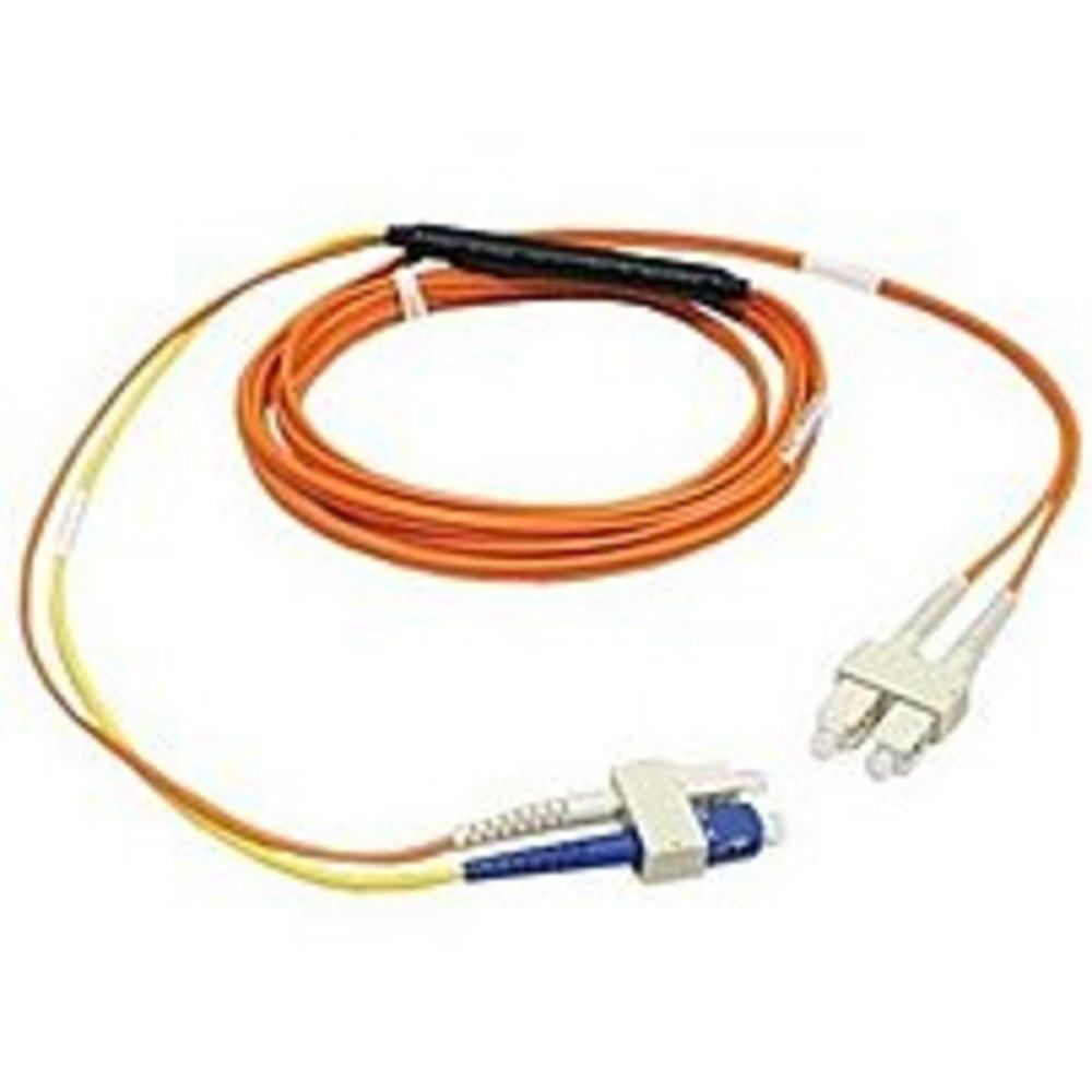 Tripp Lite N426-05M 16 Feet Mode Conditioning Fiber Optic Patch Cable - 2 x SC Male-Male - Yellow, Orange