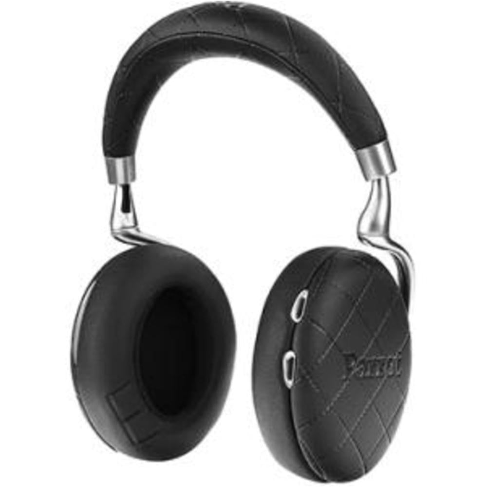 Parrot Zik Headset - Stereo - Black Overstitched - Mini-phone - Wired-Wireless - Bluetooth - 20 Hz - 22 kHz - Over-the-head - Binaural - Circumaural - 4.27 ft Cable