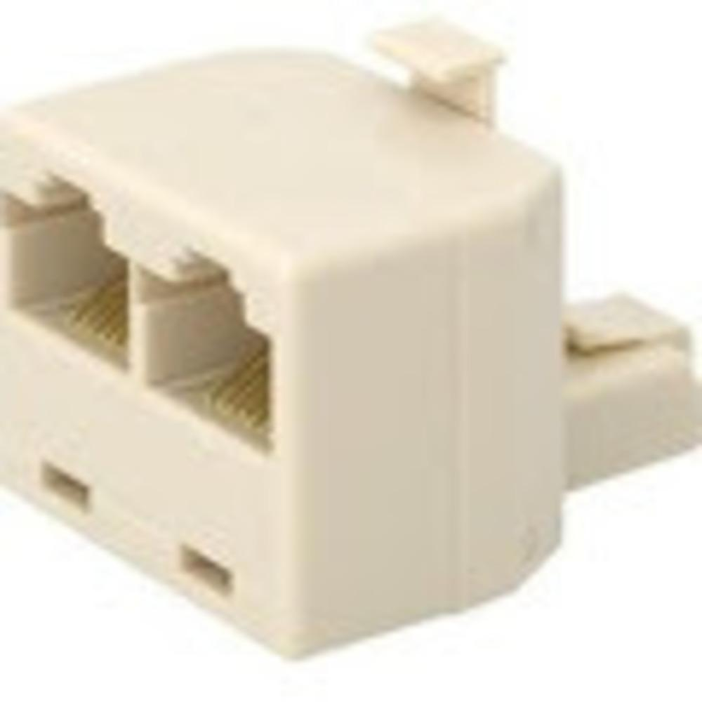 Belkin R6G022 RJ-45 Male To RJ-45 Female Modular Splitter T-Adapter