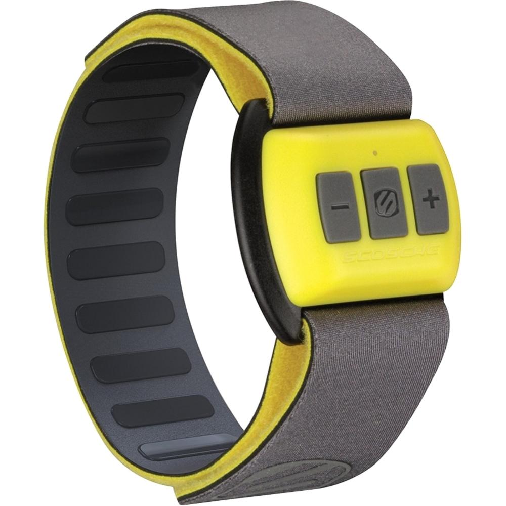 Scosche RTHMA1.5 Bluetooth Pulse Monitor - Forearm Placement - Calorie Counter - Pulse Meter - Yellow - Black