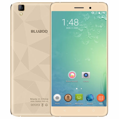 BLUBOO Maya 5.5 inch 3G Mobile Phone MTK6580A Quad Core Android 6.0 2GB RAM 16GB ROM 720P 13MP Camera Dual SIM Cell Phone 3000mA