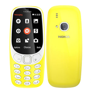 1200mAh Dual SIM Smartphone,GSM, 2.4 inch screen 2MP mobile phone, 2017 NEW Original Nokia 3310 (TA-1030)