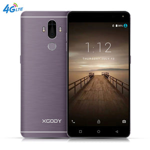 XGODY Y19 6.0 Inch Smartphone Android 7.0 4G LTE Fingerprint 2+16GB Quad Core 2900mAh 13MP GPS WiFi Dual SIM Cell Phones Celular