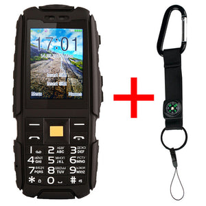Original DTNO.I A9 Russian keyboard IP67 Waterproof shockproof phone 4800mAh battery Dual SIM mobile phone FM flashligh phones
