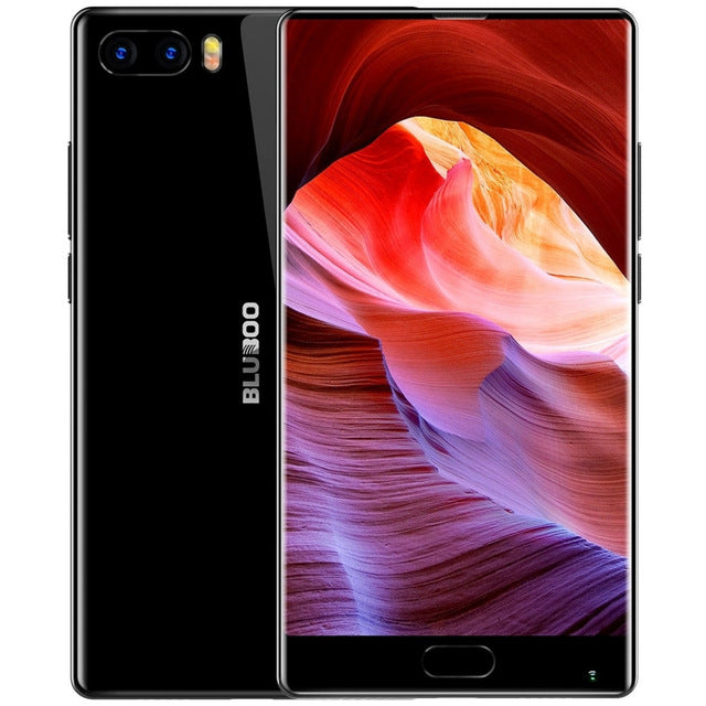 Bluboo S1 5.5'' FHD 4G Smartphone Bezel-less Helio P25 Octa Core Android 7.0 4GB RAM 64GB ROM Dual Rear Camera Mobile Phone