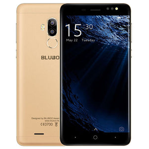 Original BLUBOO D1 5.0 inch 3G Mobile Phones Android 7.0 MTK6580A Quad Core 2GB RAM 16GB ROM 2 Back Cameras GPS Bluetooth WiFi