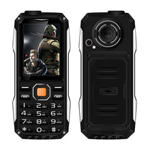 Shockproof dustproof big sound power bank bluetooth whatsapp Internet service flashlight FM rugged outdoor mobile phone P004