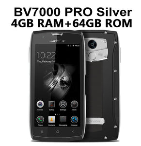 "Original Blackview BV7000/BV7000 Pro IP68 Waterproof Mobile Phone MT6750T Octa Core 5.0"" 4GB RAM 64GB ROM Android 6.0 4G LTE"