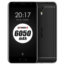 Original Ulefone Power 2 Mobile Phone 5.5 inch RAM 4GB ROM 64GB MTK6750T Octa Core Android 7.0 Camera 16.0MP 6050mAh Smartphone