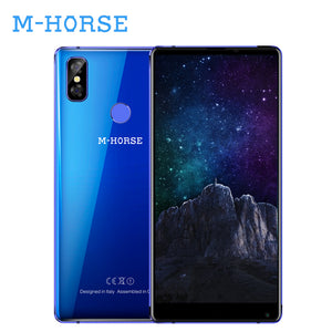 "M-HORSE Pure 2 4G Smartphone 5.99""18:9 Full Screen Android 7.0 4G 64GB Octa Core 3600mAh 16MP Fingerprint Mobile Phone Cellphone"