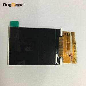 Display of the RugGear RG128 - waterproof phone - floatable phone----screen glass
