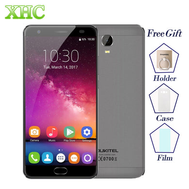 OUKITEL K6000 Plus 6080mAh Android 7.0 MTK6750T Octa Core 5.5'' ROM 64GB RAM 4GB Fingerprint 12V/2A Quick Charge 16MP Smartphone
