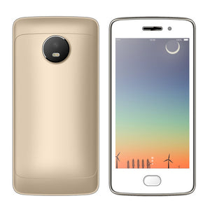 "SERVO W380 Smart phone 4.5"" Screen MTK6580M Quad Core 1.3GHz Android 7.0 cellphone ROM 4GB Camera 5.0MP GPS WCDMA Mobile Phones"
