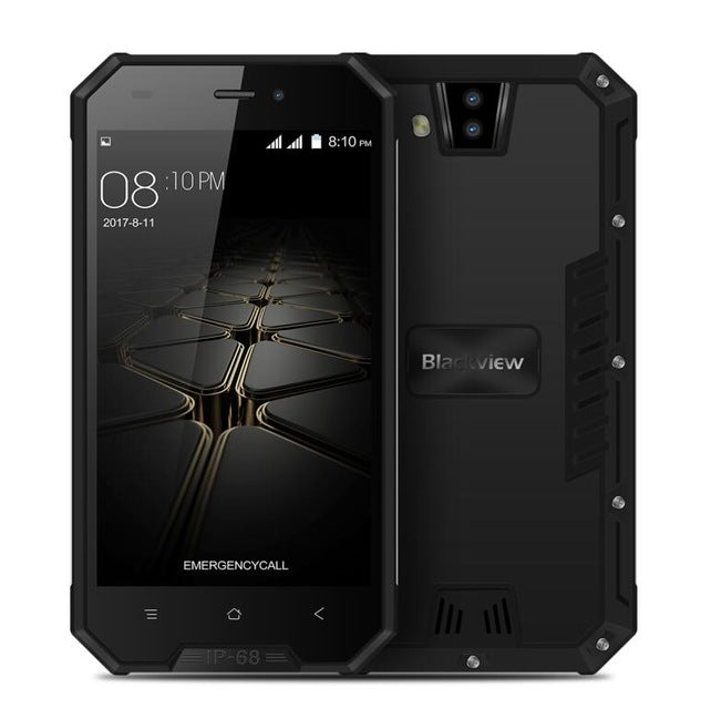 Blackview BV4000 Pro IP68 Waterproof shockproof Mobile Phone 3680mAh Android 7.0 8MP 4.7