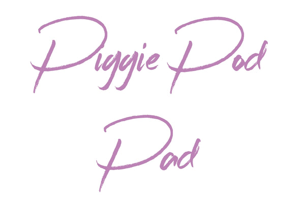 MADE TO ORDER Removable Pad For Piggie Pod