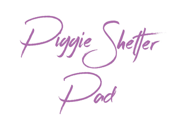 MADE TO ORDER Removable Pad For Piggie Shelter *NEW SIZE*