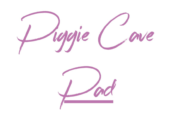 MADE TO ORDER Removable Pad For Piggie Cave