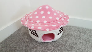 Pink Toadstool House *MADE TO ORDER*