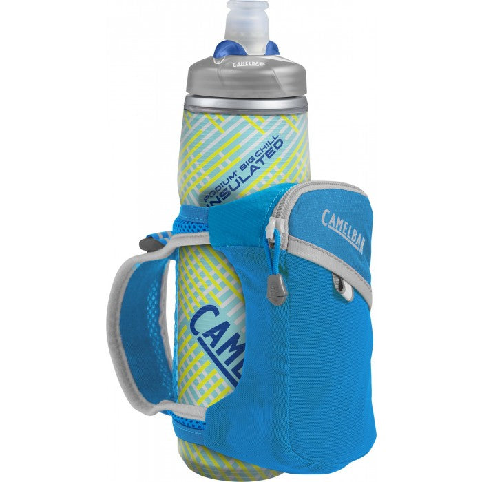 Quick Grip Chill  21 Oz Atomic Blue/Silver [1040402900_STOCK]