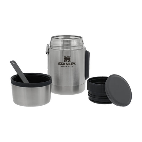New Adventure Vacuum Food Jar 0.53L Stainless Steel [10-01287-032_STOCK]