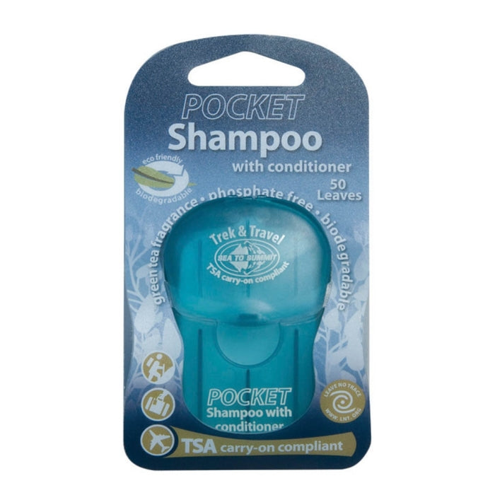 Trek & Travel Pkt Cond Shampoo Leaf (50) [ATTPCS_STOCK]