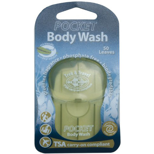 Trek & Travel Pkt Body Wash Leaf (50) [ATTPBW_STOCK]