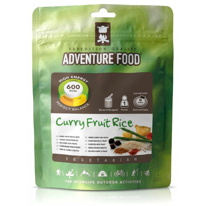 Vegetarian Meal Curry Fruit & Rice - 1 person [TM-1RF_STOCK]