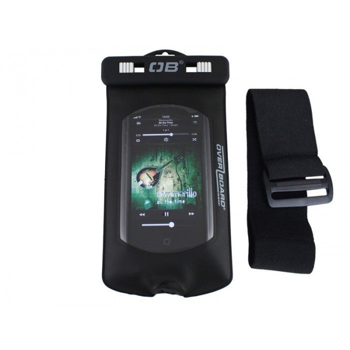 Waterproof Ipod/Mp3 Case (With Welded Headphone Jack) [OB1027BLK_STOCK]