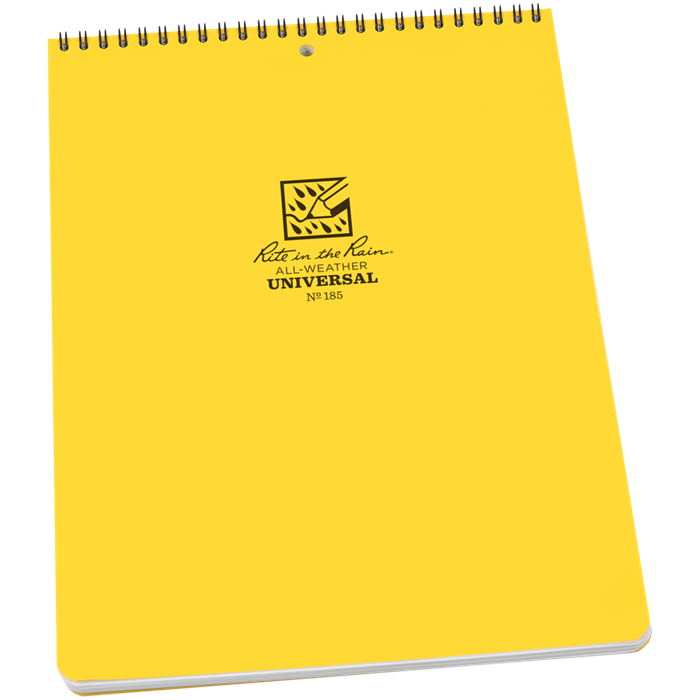 "Universal Notebook Top Spiral Bound 8.5""X11"" [R-185_STOCK]"