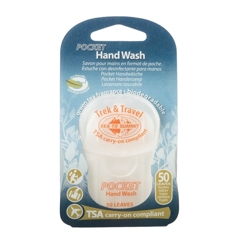 Trek & Travel Pkt Hand Wash Leaf (50) [ATTPHW_STOCK]