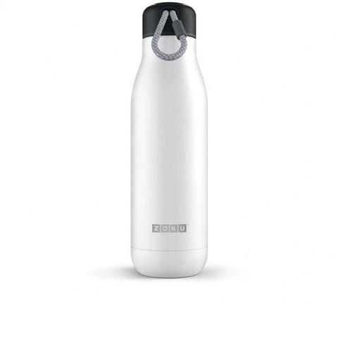Zoku 25Oz White Stainless Bottle [ZK143-WT_STOCK]